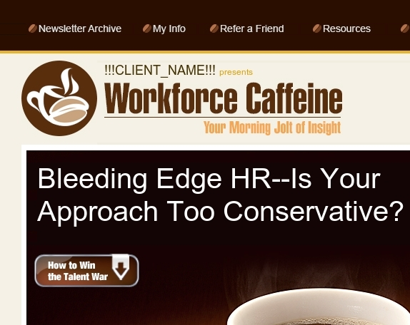 Bleeding Edge HR | Why I Love HR | And more...