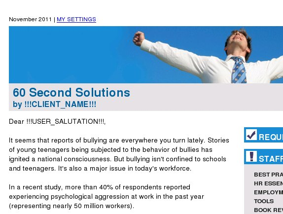 Spot and Prevent Workplace Bullying--Now